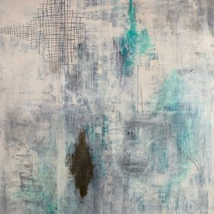 Esteban Grimm Breaking Through abstract painting